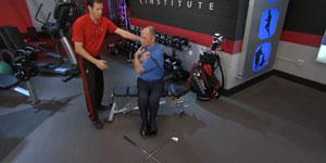 The Seated Trunk Rotation Test