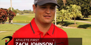 Zach Johnson - Athlete First!!
