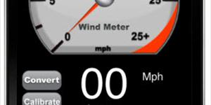 Iphone Wind Meter