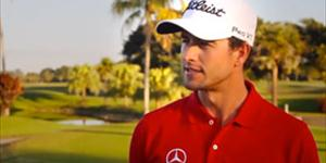 2013 Masters Champion Adam Scott on Practice