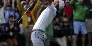 2013 Masters Champion Adam Scott on preparing to play.