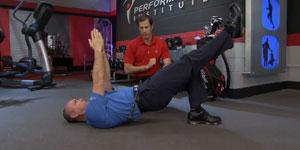 The Bridge with Leg Extension Test
