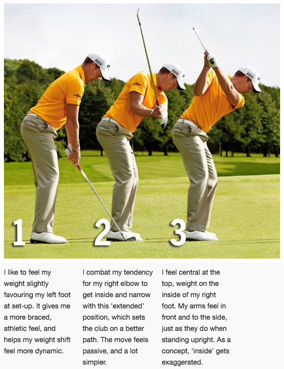 How Danny Willett matched his swing to his physical