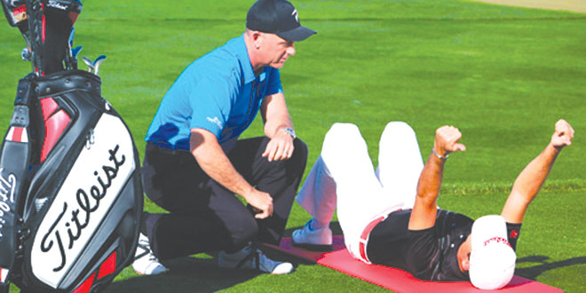 The Role Of The Shoulder Girdle In The Golf Swing Article Tpi