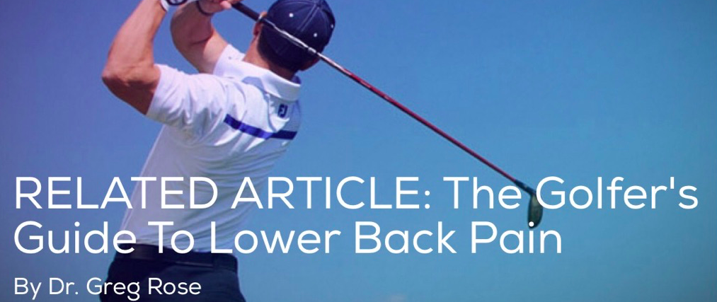 The Golfer's Guide to Lower Back Pain – Part 1   Article   TPI