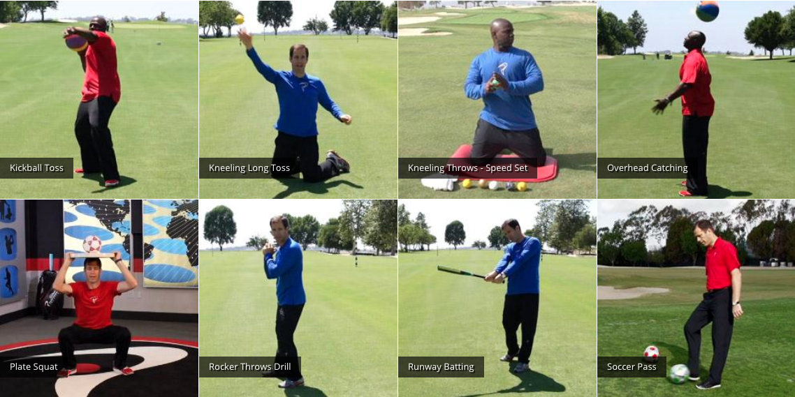 The Similarities Between Golf And Striking Throwing Sports