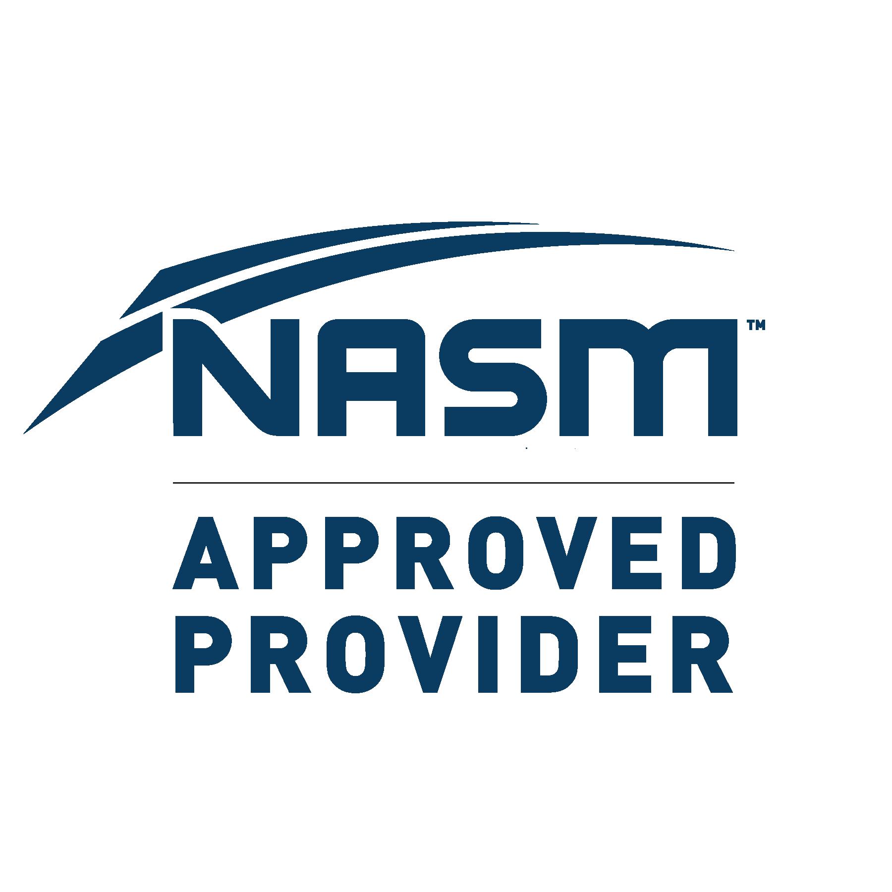 NASM - National Academy of Sports Medicine