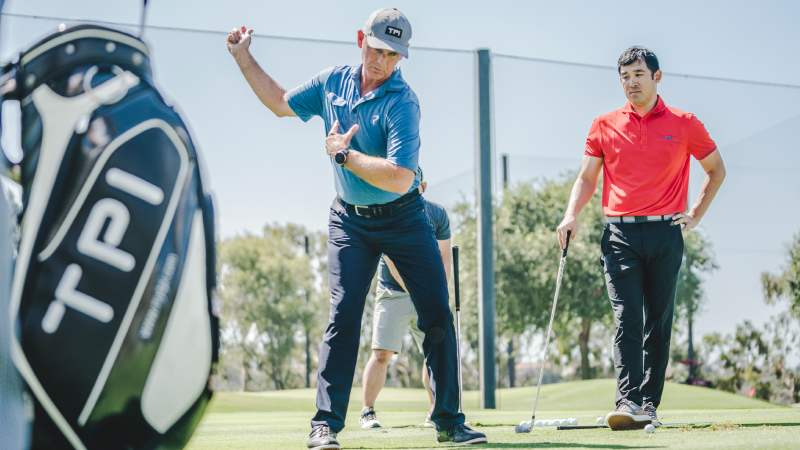 Level 1 - Golfers prefer to work with a TPI Certified expert
