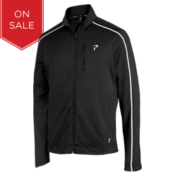 Engage II - Full Zip Training Jacket (Carbon Black)