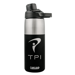 20 oz Insulated Stainless Water Bottle (Jet Black)
