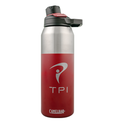 32 oz Insulated Stainless Water Bottle (Cardinal)