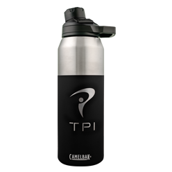 32 oz Insulated Stainless Water Bottle (Jet Black)