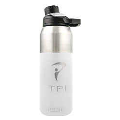 32 oz Insulated Stainless Water Bottle (White)