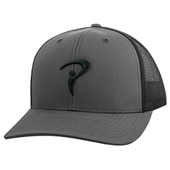Tour Trucker Cap (Charcoal)