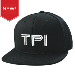 Binary Flatbrim Snapback Cap (Black)
