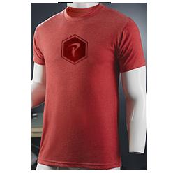 Hex Tee (Vintage Red)