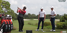 Jon Rahm Breaks Down His Swing With Me And My Golf?