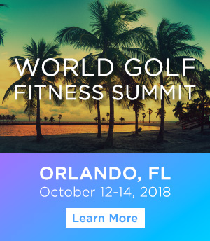 2018 World Golf Fitness Summit